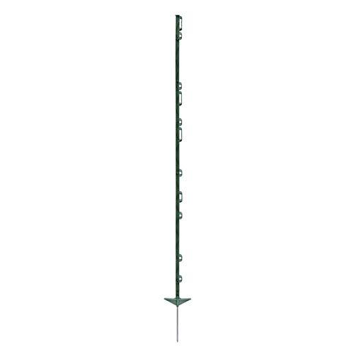 VOSS.farming 20 piquets pour clôture électrifiée, 156 cm, renforcés aux Fibres de Verre Stable Solide Robuste clôture électrique