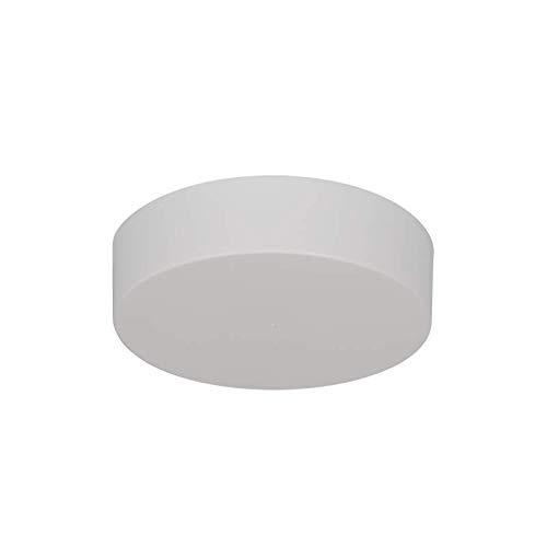 Lampenbaldachin - Lampenverteiler | Abdeckkappe/Baldachin Zipdesign Medium mit 0-7 Lampenpendel Ø120mm, Höhe 30mm (weiß RAL 9010 matt)