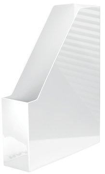 HAN i Kunststoff weiß Magazin Rack–Regale für Zeitschriften (Kunststoff, weiß, C4, Magazin, 76mm, 248mm)