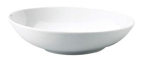 Kahla 393456A90039C Five Senses Porcelaine Assiette à Soupe, Blanc, 21 cm, Lot de 6