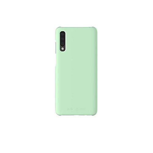 Samsung Galaxy A70 Mint/Green Case Oficial Samsung Hard Red Case for Galaxy A70 - Funda protectora delgada suave al tacto liso verde/menta