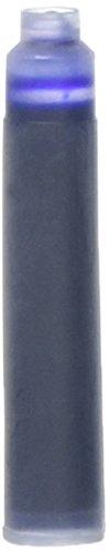 Xezo plumas azul cartuchos de tinta para pluma estilográfica cartuchos de tinta (azul, paquete de 10unidades, azul ()