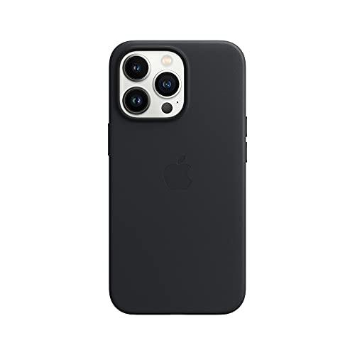 Apple Leder Hülle mit MagSafe (für iPhone 13 Pro) - Mitternacht
