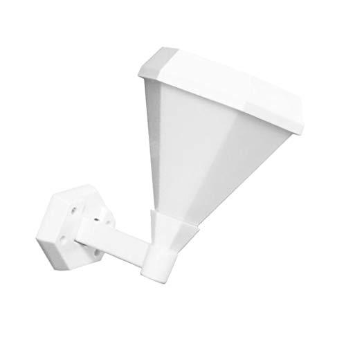 PETSOLA Lámpara de Pared LED Solar con Llama Parpadeante, Decoración de Jardín Al Aire Libre para Terrazas, Vallas, Cubiertas, 51 Leds IP65 a Prueba de Agua