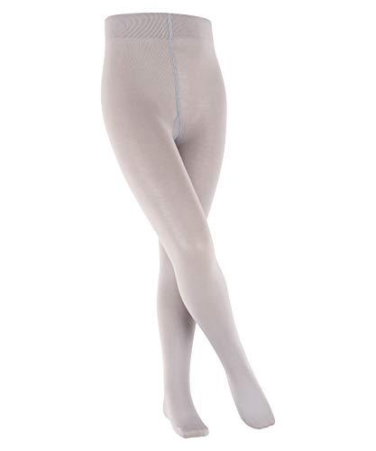 FALKE Cotton Touch K TI Collants, Gris (Silver 3290), 98-104 (2-3 Ans) Mixte Enfant