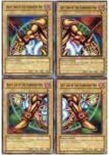 Exodia the Forbidden One 4 Card Set Legs + Arms Limbs YUGIOH YU GI OH YU-GI-O...