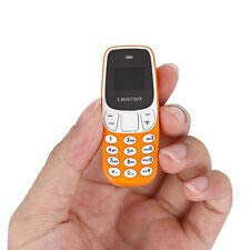 Galaxy Star Electronics Smallest Keypad Mini Mobile Phone Dual Sim 4 G Support Light Weight - Orange