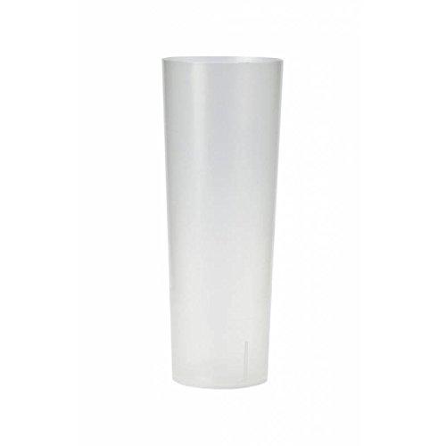 MSU - VASO TUBO PLASTICO (PP) 300cc. IRROMPIBLE (500 unds)