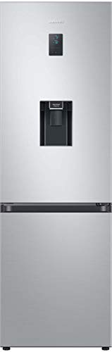 Samsung RL34T653DSA/EG Kühl-/Gefrierkombination / 185 cm Höhe / 331 Liter / A++ / Edelstahl Look / No Frost+ / Space Max / Wasserspender