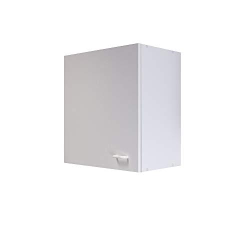 Flex-Well Küchen-Hängeschrank BOCHUM - Oberschrank vielseitig einsetzbar - 1-türig - Breite 50 cm - Weiß