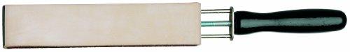NC 9388 - Coramella filettata di tipo russo, 2 lati in pelle, 33 cm