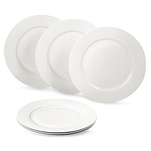 suntun Platos Llanos de Porcelana 6 piezas, 10,6