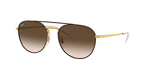 Fashion Shopping Ray-Ban Women's Rb3589 Square Metal Sunglasses