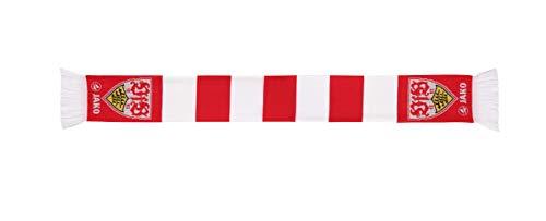 JAKO VfB Stuttgart Basic Fanschal, rot, One Size
