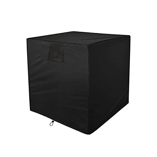 Taowan Cubierta cuadrada portátil del acondicionador de aire multifuncional plegable impermeable a prueba de polvo muebles cubierta protectora