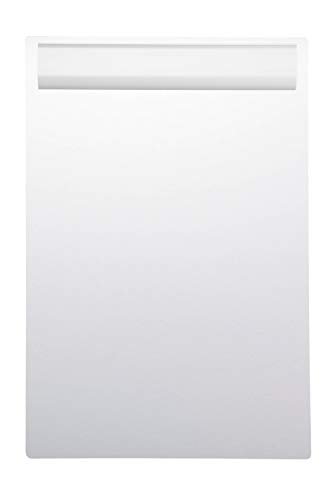 Maul Schreibplatte, Klemmbrett, DIN A4 hoch, Eloxiertes Aluminium, 10 mm Klemmweite, 1, 5 mm Plattenstärke