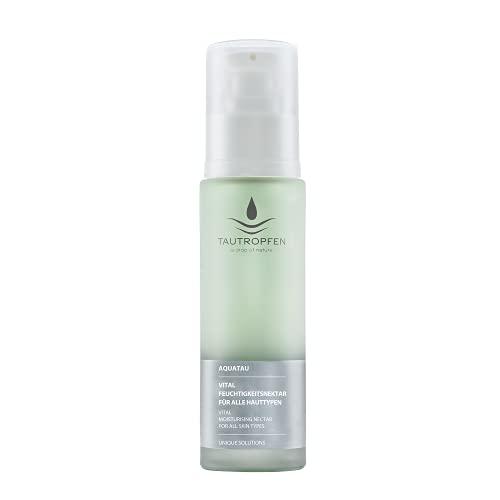 TAUTROPFEN Naturkosmetik, Aquatau, Vital Feuchtigkeitsnektar für alle Hauttypen, 50 ml
