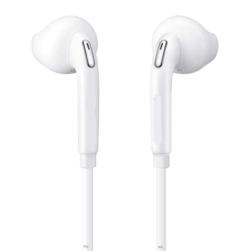 KOIU Earphones for Vivo V19 Pro/ V15 / V17 with Built in Mic for All Smartphones Bass Boosted with Dynamic Drivers (White) Headphone1