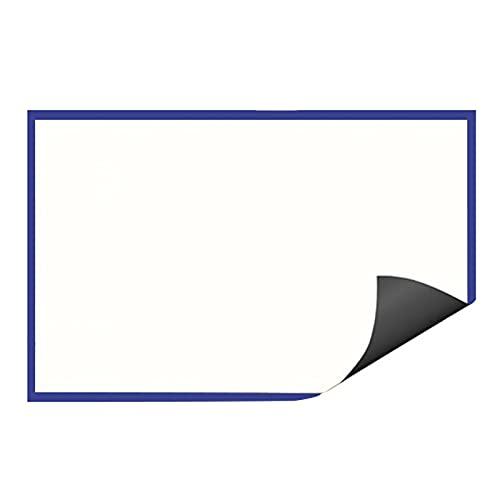 DAPAO Pizarra Magnética, Pizarra Magnética, Mini Pizarra, Tablón De Anuncios, Pizarra Adhesiva para Pared, Pizarra Blanca para Notas De Cocina, Pizarras Blancas para Paredes, para Escuela, Oficina