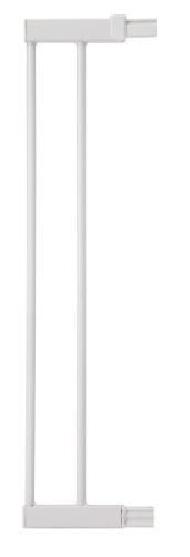 Safety 1st Extension para Easy Close Metal, Flat Step, Auto Close, Extension de 14 cm para barrera de seguridad metálica, Color blanco
