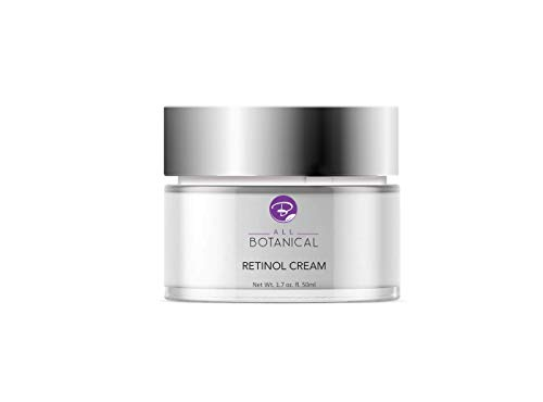 3% Retinol Cream, Hyaluronic Acid, Vitamin A B E for Men and Women – The Best Anti Aging Cream for Face Day & Night that Reduces Wrinkles, Fine Lines & Age Spots – PALM OIL FREE, RESULTS GUARANTEED