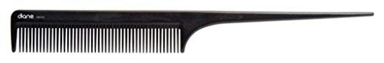 キウイホラープログラムDiane Ionic DBC043 Anti-Static Rat Tail Comb, Black [並行輸入品]