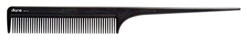 ねばねばアコードプレフィックスDiane Ionic DBC043 Anti-Static Rat Tail Comb, Black [並行輸入品]