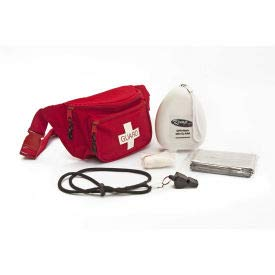 Kemp Guard First Responder Hip Pack, 10-103-RED-S2 (10-103-S2)