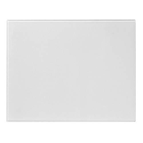 Harbour Housewares Piano di Lavoro Protettivo/Tagliere in Vetro - Antiscivolo per Cucina - Trasparente - 50 x 40 cm
