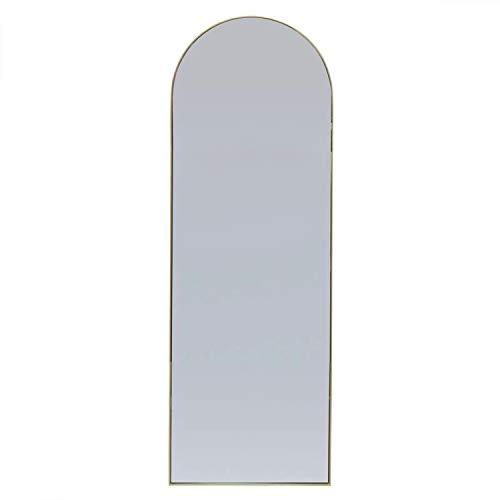 Vidal Regalos Espejo de Pie Metalico Dorado 170 cm