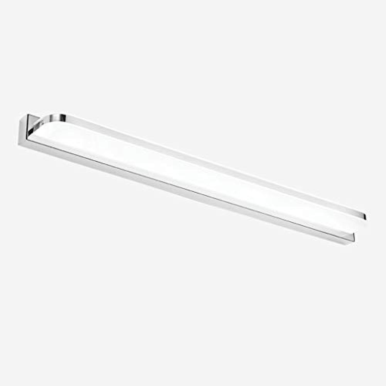Spiegel Lampen wasserdicht Nebel LED-Spiegel Licht Einfache moderne LED-Wandleuchte Acryl Schlafzimmer Badezimmer WC Make-up Lampe Badezimmer leuchten (Farbe  Wei-9 mit 42cm LED)