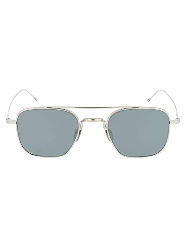 Thom Browne Luxury Fashion dames TBS9075002ZILVER zilveren zonnebril | jaargetijde permanent