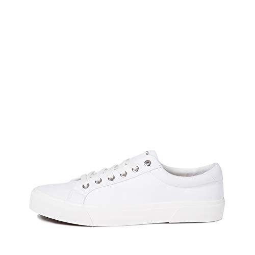 Bowery Canvas Sneaker - White/White - Size 8