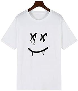 Wanxiaoyyyinnsdx Mens Henley Short Sleeve, Summer sports hip-hop T-shirt men's short-sleeved tops fashion casual men's cot...