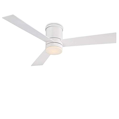 Modern Forms FH-W1803-52L-MW Contemporary Modern 52``Ceiling Fan from Axis Collection Finish, 52in Blade Span, Matte White