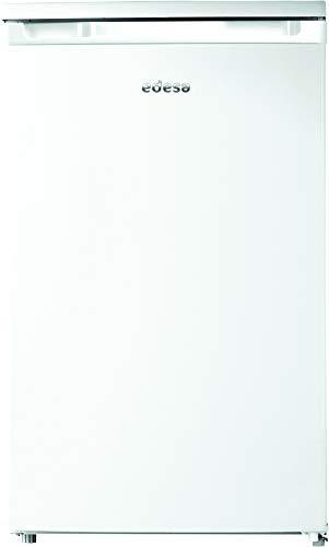 Edesa   Frigorífico Modelo EFS-0812 WH A  Frigorífico Con Congelador de 0,85 m   Capacidad Neta (l): 97 (83 + 14)   Eficiencia Energética F   Regulación Mecánica de Temperatura