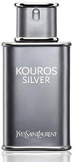 Kouros Silver by Yves Saint Laurent for Men - Eau de Toilette, 100ml, sage