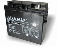 2 x ULTRA MAX 12V 20Ah (as 17Ah & 18Ah) - MOBILITY SCOOTER WHEELCHAIR BATTERIES