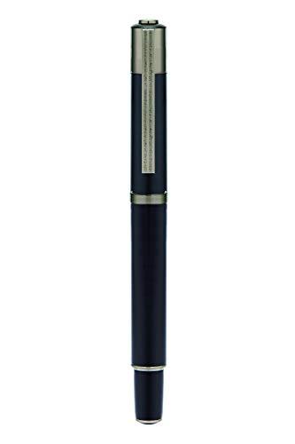 Yookers Matis navulbare Fibre Pen in mat zwart Lak 1.0mm Tip