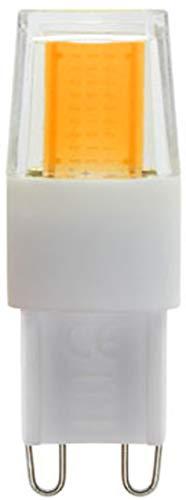 Lampadina LED G9 COB 1505, 7 Watt, luce bianca calda, dimmerabile, 220 V