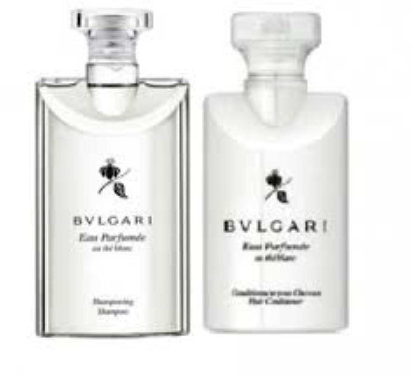 ベルお香細心のBvlgari Eau Parfumee Au The Blanc (ブルガリ オー パフュ-メ オウ ブラン) 2.5 oz (75ml) シャンプー & ヘアーコンディショナー