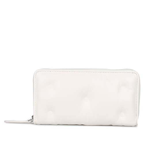 メゾンマルジェラ MAISON MARGIELA 財布 長財布 ラウンドファスナー GLAM SLAM S56UI0110 ホワイト 白 [並...