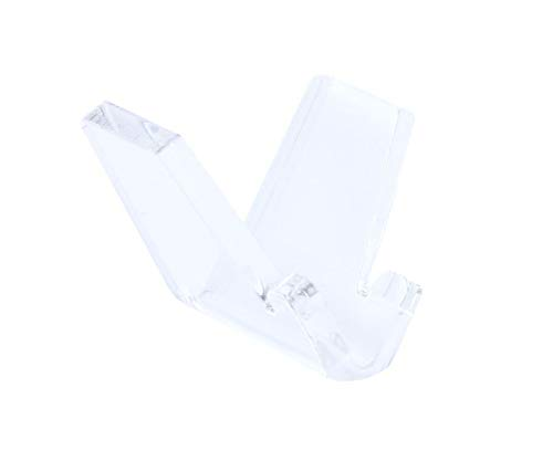 6 Stück Universelle transparente Acryl V Messerständer für Taschenmesser Jagdmesser Klappmesser Anglermesser usw. Der perfekte Messerhalter für viele unterschiedliche Messer.