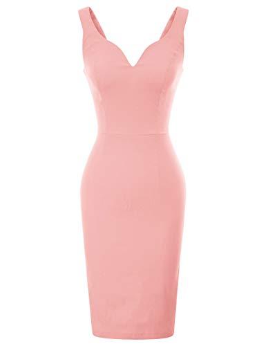 GRACE KARIN Rockabilly Kleider sexy cocktailkleider elegant Retro Kleider CL987-10 S