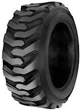 HORSESHOE 10-16.5 14 Ply Skid Steer Loader Tubeless Tire w/Rim Guard Heavy Duty G Load 10x16.5 NHS SKS1 L2/G2 T168