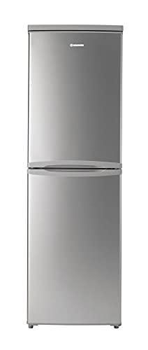 Hoover HVBS5162AKN Freestanding Fridge Freezer, Frost Free, 225L Total Capacity, 55cm wide, Silver