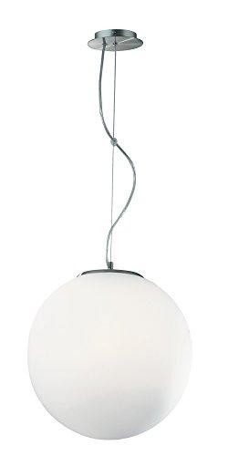 Ideal Lux Mapa SP1 D30 Lampada a Sospensione E27, Bianco