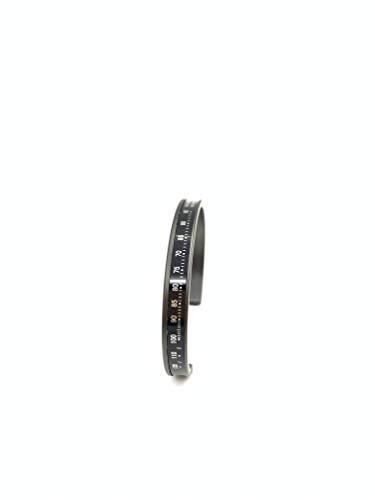 Speedometer - Pulsera oficial con cronómetro Acciao negro