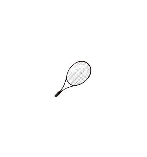 HEAD Tennisschläger Prestige S - unbesaitet - 16x19 schwarz/rot (701) L2