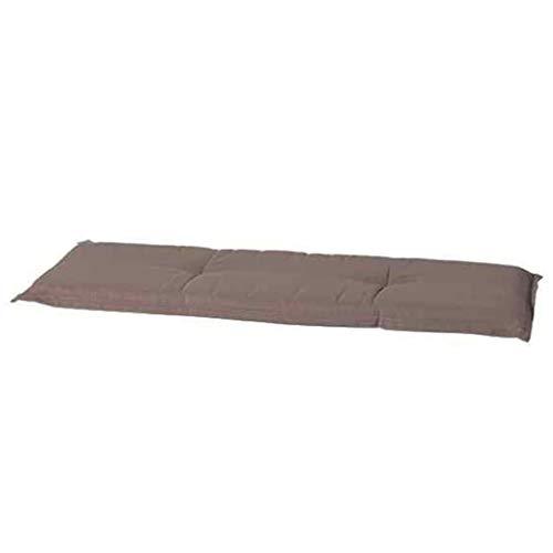Madison Sitzkissen, Motiv Panama, 75% Baumwolle, 25% Polyester, Taupe, Taupe, 180 x 48 cm